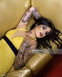 kat von d by carlos rios for people magazine photos and images