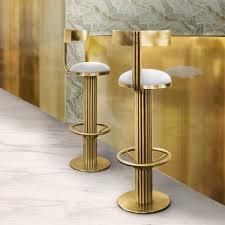 Mid Century Modern Vanity Bar Stools Furry Vanity Stools Mid Century Modern Bar Gold