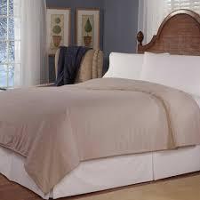 Sleepwell Heated Duvet Heat Plush Triple Rib Electric Blanket