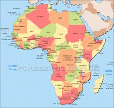 africa map countries and capitals africa map with capitals kemerovo me