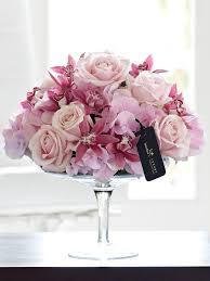 luxury flowers hydrangea and mini cymbidium orchid arrangement