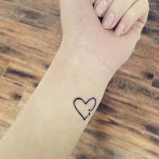 what does a semicolon heart tattoo mean luigigallo info