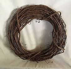grapevine wreath grapevine wreath for crafts 13 diameter rustic country ebay