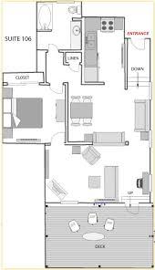 floor plan of a hotel gym club suites bisbee hotels in arizona suite 106
