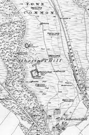 Ou Map Buried In Time U2013 The Medieval Chapel Of Rishton Hampshire