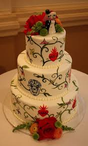 day of the dead wedding cake the day of the dead wedding cakes skullsproject