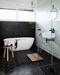 Modern Bathroom Pinterest Bathrooms Black And White Modern On Bathroom Home Design