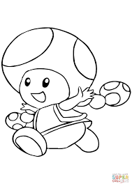 toadette coloring page free printable coloring pages