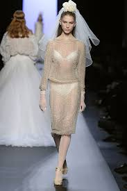 through the years gaultier couture wedding dresses haute d u0027 vie