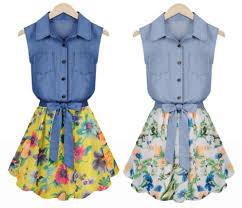 denim dress for teen girls 96 cm bust size teen girls on luulla