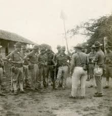 Marines Holding Flag The Sandino Rebellion 1927 1934