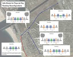 Los Angeles Without A Map by Playa Del Rey Street Safety Improvements Court Driver Backlash
