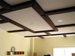 Coffered Ceiling Lighting by Better Room Acoustics For Listening Rooms With Tubetraps