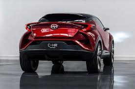 toyota new c hr modified toyota c hr crossover heading to 24 hours of nurburgring