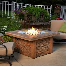 Propane Burners For Fire Pits - sierra fire pit table square burner woodlanddirect com
