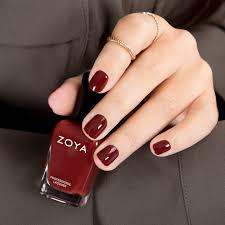 zoya pepper marsala nail polish nails pinterest pepper