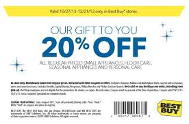 best buy save 20 off any regular priced small appliance