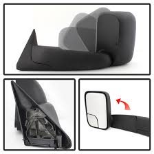 towing mirrors for dodge ram 3500 97 dodge ram power adjust telescoping towing side mirror