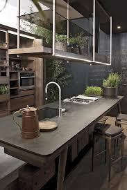 cuisine et ilot central ilot central cuisine gris cuisine en image