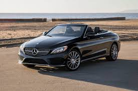 convertible mercedes black 2018 mercedes benz c class convertible pricing for sale edmunds