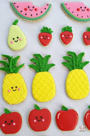 Recipe Decorated Cookies Apple Strudel Cut Out Cookie Recipe And Fruit Decorated Cookies