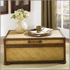 coffee table round wicker coffee table ottoman photo of with