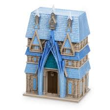 frozen fever water colour changing castle playset