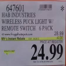 led puck lights costco costco sale lightmates wireless led puck lights 6 pack 24 99