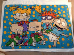rugrats area rug carpet nickelodeon 30 x 47 cartoon 90 u0027s kids