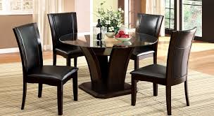 dining room 4 piece dining room set tobeknown cheap glass dining