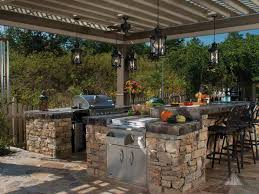 outdoor kitchen kitchen modern contemporary outdoor kitchen idea