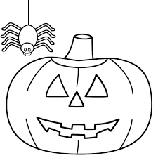 Spider Color Pages Halloween Coloring Pages For Kids Spider Hallowen Coloring Pages by Spider Color Pages