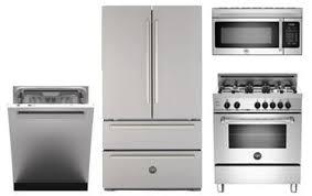 Kitchen Appliances Packages - bertazzoni 4 piece stainless steel kitchen appliance package abt com