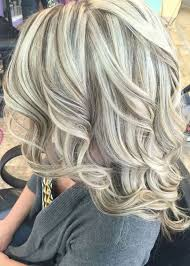 medium lentgh hair with highlights and low lights blonde streaks with red lowlights my new hair of blonde hair color