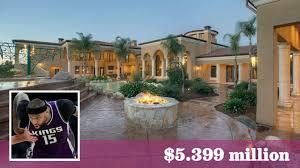 nba star demarcus cousins puts his granite bay mansion in play at