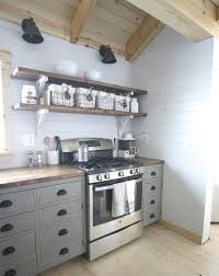 Kitchen Open Shelves Ideas Ana White Open Shelves For Our Cabin Kitchen Diy Projects