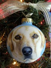 painted personalized pet ornament custom ornament