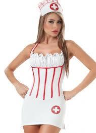 Halloween Nurse Costume White Halloween Pleated Halter Nurse Costume Halloween Costumes Nurse