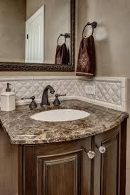 Accent Wall In Bathroom Powder Room Tile Designs Master Bath Room Wood Accent Wall Brown