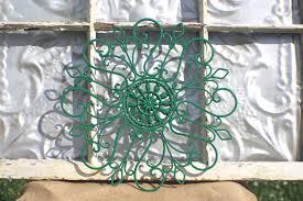 Wrought Iron Garden Decor Wrought Iron Wall Decor Ideas Home Design