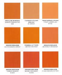 image of interior paint orange chart with name home combo