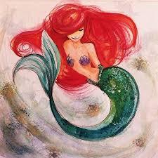 809 ariel mermaid images drawings
