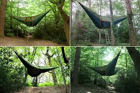 cing on a higher level suspended tree tent icreatived