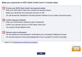 hdfc credit card bill payment paisa blog