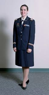 sgt lori female dress blues