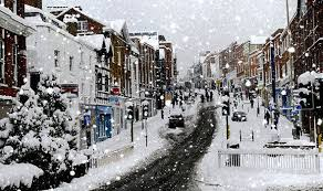 snowy christmas pictures winter 2016 britons bet on a snowy christmas after colder weather