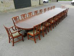 Antique Boardroom Table Large 6 Metre Antique Table 20ft Vintage Regency Mahogany