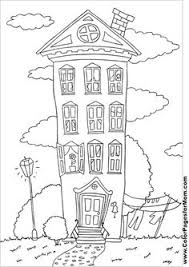 coloring pages houses houses geometric coloring books pinterest house doodles and