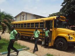 bus donation coordinated by salesian missions ensures student