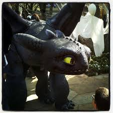 Toothless Costume Toothless Visits Dwa Or You Wish Your Costume Was This Awe U2026 Flickr